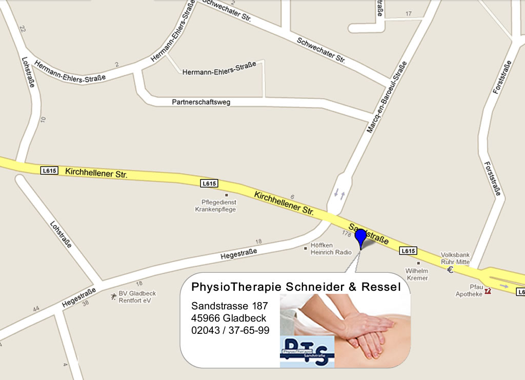 Physiotherapie & Krankengymnastik in Gladbeck