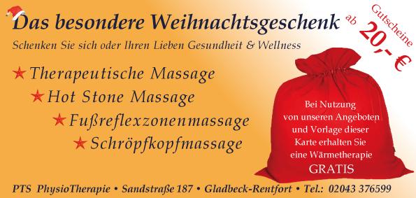 Wellness und Massage Gutschein