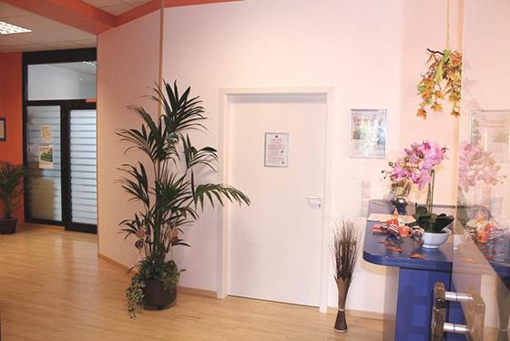 PTS-Eingangsbereich